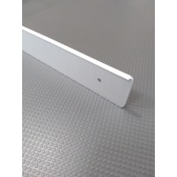 Торцова планка для стільниці EGGER права колір алюміній